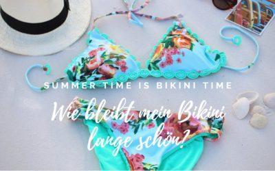 Summer Time is Bikini Time – Bikini Pflegetipps