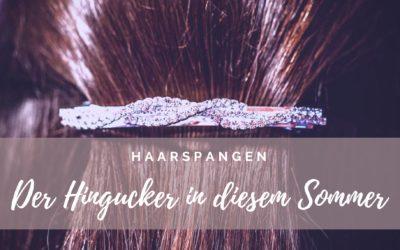 Haarspangen Trends, der Hingucker in diesem Sommer