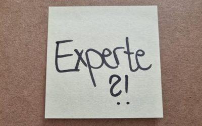 Es lohnt sich zum Experten zu gehen